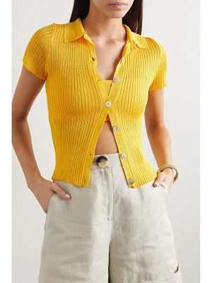 Calle Del Mar ribbed-knit shirt
