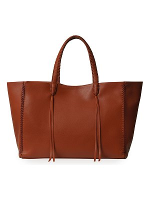 Callista Iconic Stitched Leather Tote Bag