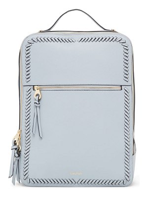 Calpak kaya faux leather 15-inch laptop backpack