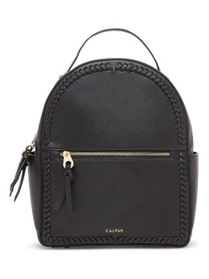 Calpak kaya faux leather round backpack