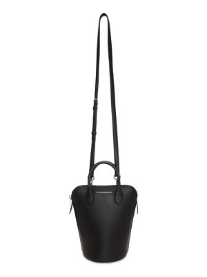 CALVIN KLEIN 205W39NYC black mini dalton bucket bag