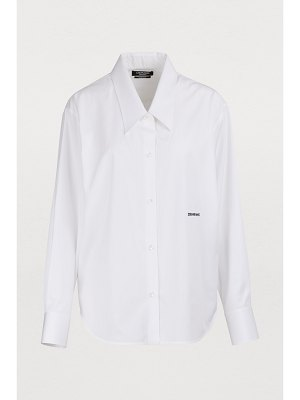 CALVIN KLEIN 205W39NYC Cotton poplin shirt