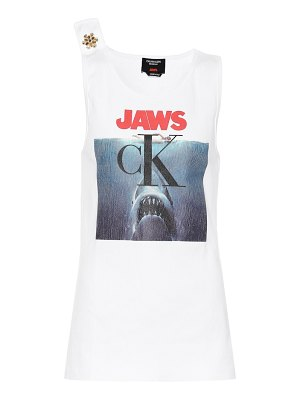 CALVIN KLEIN 205W39NYC crystal-embellished tank top