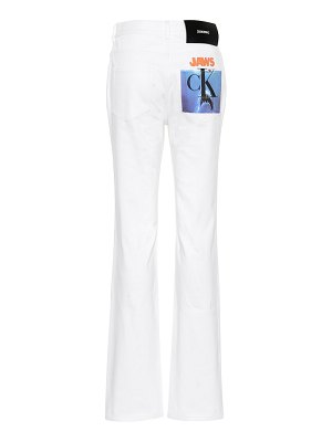 CALVIN KLEIN 205W39NYC High-rise straight jeans