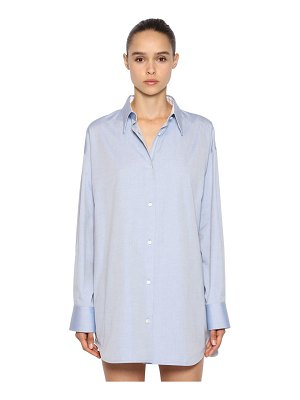 CALVIN KLEIN 205W39NYC Oversized cotton oxford shirt