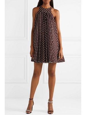 CALVIN KLEIN 205W39NYC polka-dot twill mini dress