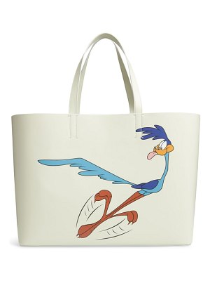 CALVIN KLEIN 205W39NYC road runner east/west leather tote