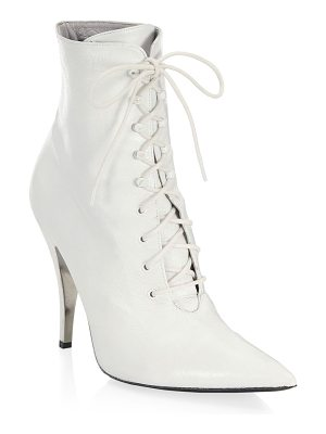 CALVIN KLEIN 205W39NYC rosemarie leather lace-up ankle boots