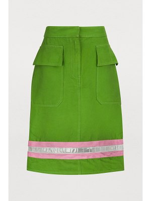 CALVIN KLEIN 205W39NYC Short cotton skirt