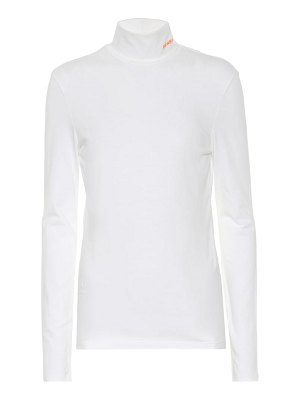 CALVIN KLEIN 205W39NYC stretch-cotton turtleneck top