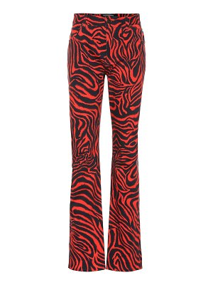 CALVIN KLEIN 205W39NYC tiger high-rise straight jeans