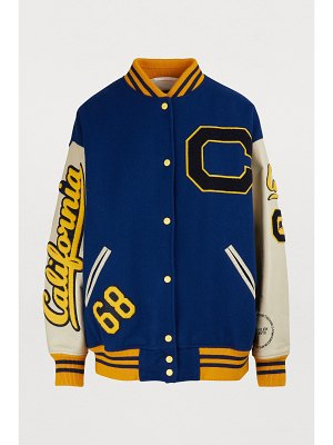 CALVIN KLEIN 205W39NYC Virgin wool varsity jacket