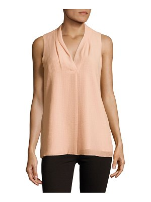 Calvin Klein Crinkled Sleeveless Top