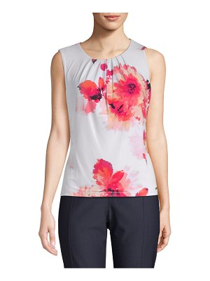 Calvin Klein Floral Sleeveless Top
