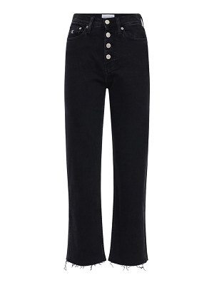 Calvin Klein Jeans Cropped cotton denim jeans