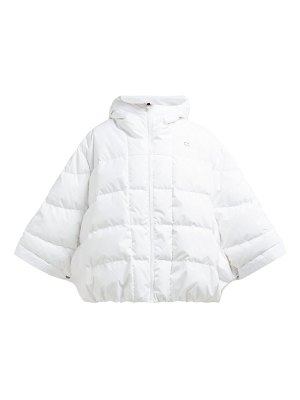 Calvin Klein Performance hooded quilted down poncho