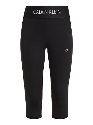 Calvin Klein Performance Logo Jacquard Performance Leggings
