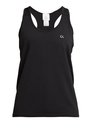 Calvin Klein Performance logo print stretch jersey tank top