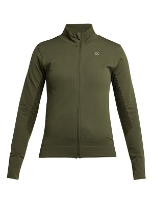 Calvin Klein Performance seamless zip through performance jacket