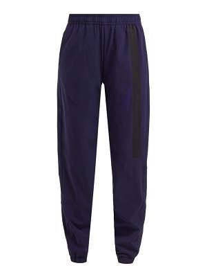 Calvin Klein Performance side stripe shell track pants