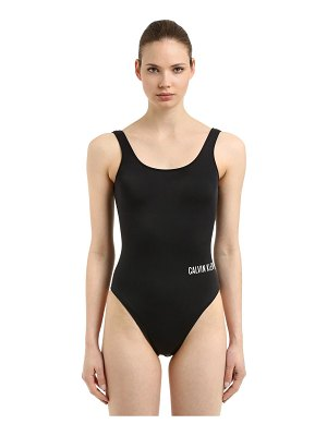 CALVIN KLEIN SWIMWEAR Square scoop one piece swimsuit