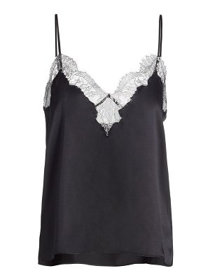 CAMI NYC gianna lace-trim silk camisole
