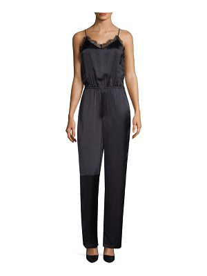 CAMI NYC sonia silk jumpsuit