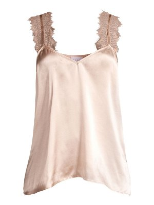 CAMI NYC the chelsea silk & lace camisole
