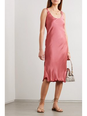 CAMI NYC the evelyn open-back silk-blend charmeuse midi dress