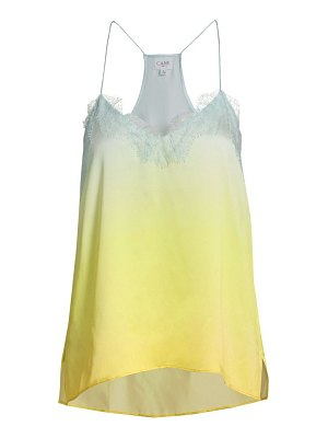 CAMI NYC the racer silk charmeuse camisole