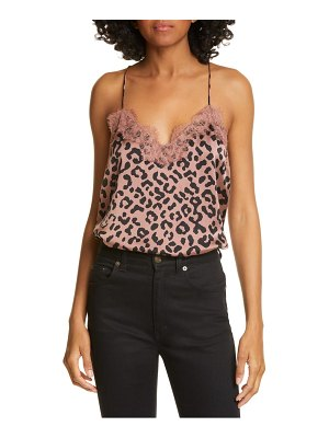 CAMI NYC the racer snake print silk camisole