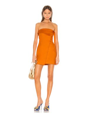Camila Coelho ila strapless mini dress