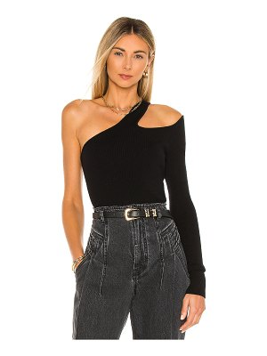 Camila Coelho rashida one shoulder sweater