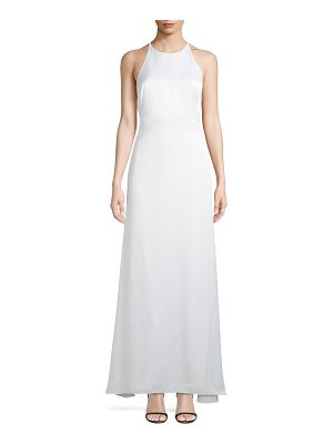 camilla and marc Garbo X Back Sleeveless Luster Dress