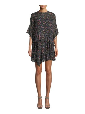 camilla and marc Paloma Floral Relaxed Mini Dress