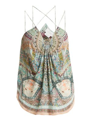 Camilla Sisters Of The Marigold Silk Cami Top