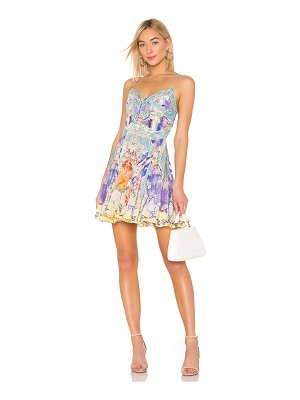 Camilla Tie Front Mini Dress