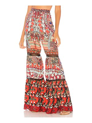 Camilla Wide Leg Tiered Pant