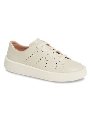 Camper courb perforated low top sneaker