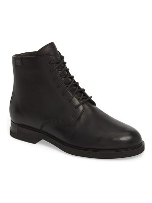 Camper helix lace-up bootie