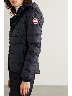 Canada Goose abbott hooded quilted shell down jacket