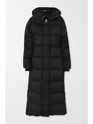 Canada Goose alliston hooded quilted ripstop down coat