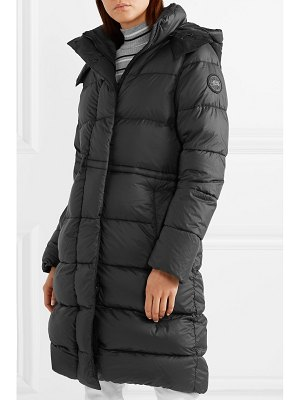 Canada Goose arosa hooded quilted shell down parka