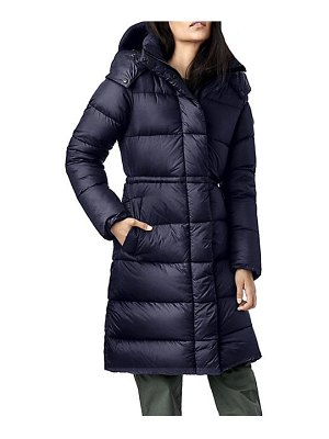 Canada Goose black label arosa quilted hooded parka