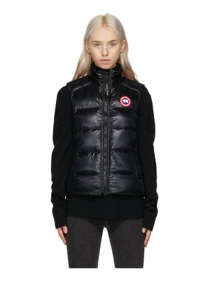 Canada Goose black packable down cypress vest