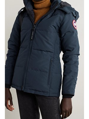 Canada Goose chelsea hooded quilted shell down jacket