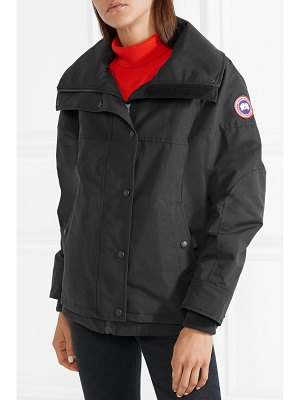 Canada Goose chinook hooded quilted shell down jacket