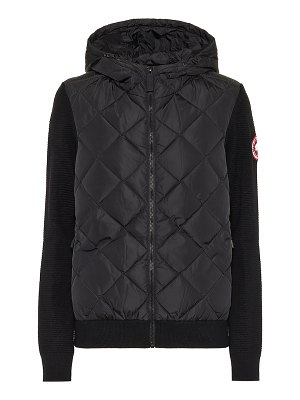 Canada Goose hybridgeâ® down and wool hoodie