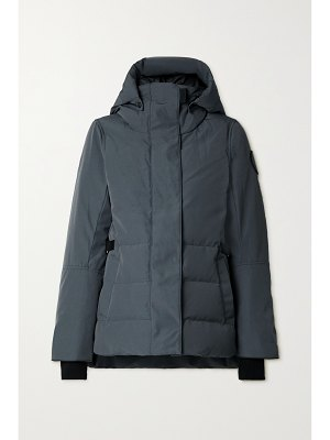 Canada Goose lyndale hooded quilted shell down parka
