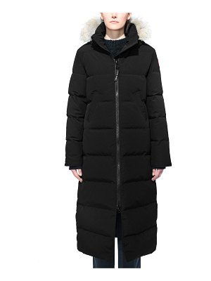 Canada Goose mystique fusion fit down parka with genuine coyote fur